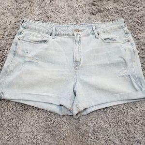 [Old Navy] Light Wash Jean Shorts NWOT